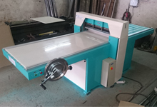 Fully automatic sample cutting