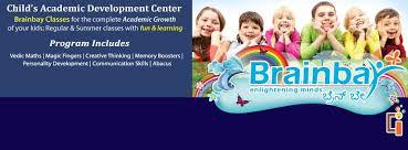 Brain development programs