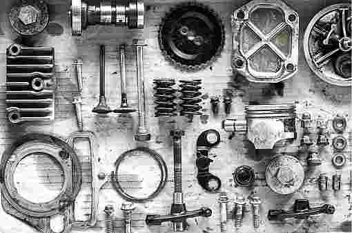 Two wheeler parts