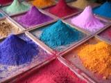 Pigments & resin