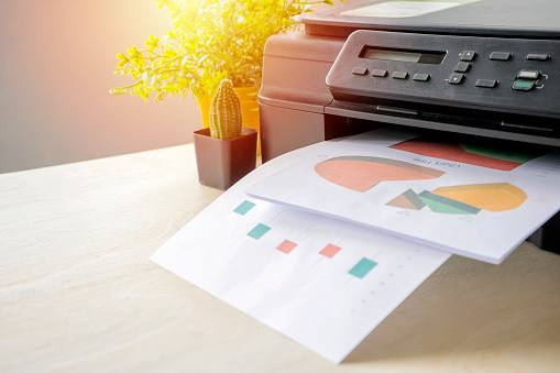 Commercial printers.