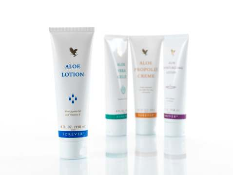 Aloe vera skin care product