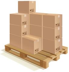 All type of cardboard
