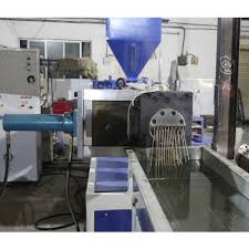 Plastic extrudes machines