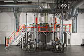 Chemical plant machinery