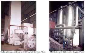 oxygen/nitrogen & acetylene plants