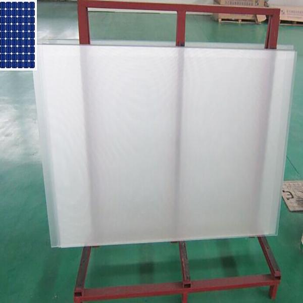anti-reflective coating low iron solar glass