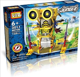 It is a robotic kit (loz-3011)