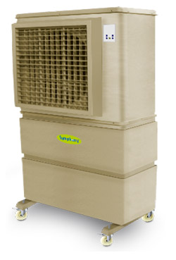 Mobile commercial air coolers