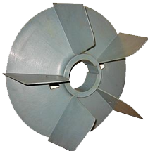 Plastic Fan for Motors