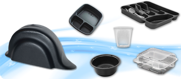 Plastic thermoformed products