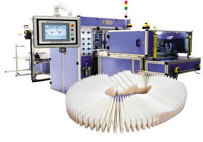 Filter production equipment