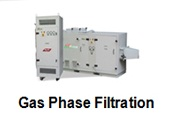 Gas phase filtration