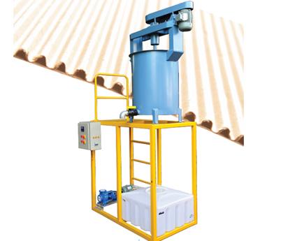 Automation corrugation gum