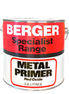 Berger zinc chromate red oxide primer