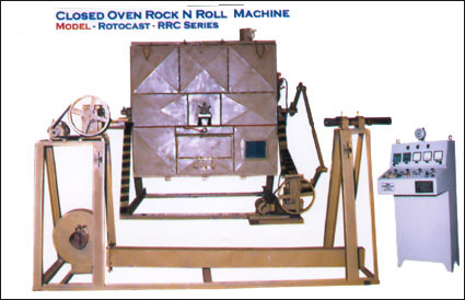 rotocast rrc closed oven rock-n-roll