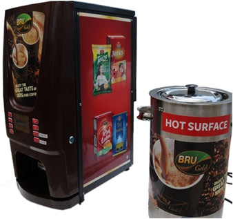 Hot tea vending machines