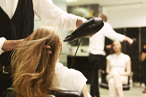 Education in hair styling & beauty therapy