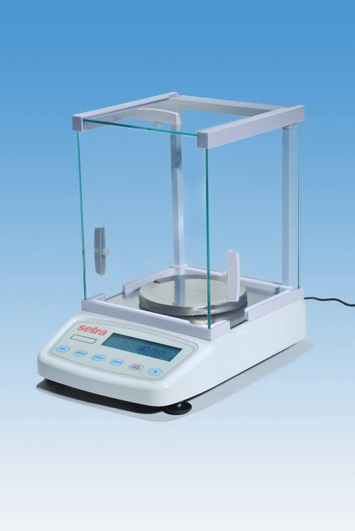 Laboratory balances scale
