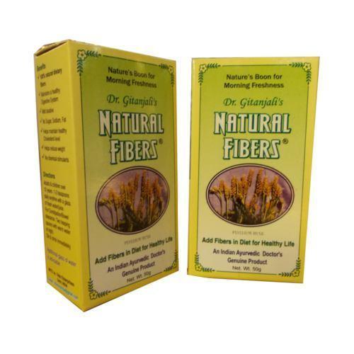 Natural fibers & psyllium husk