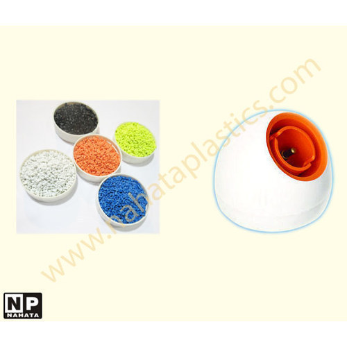 Pbt glass filled coloured plastic granules
