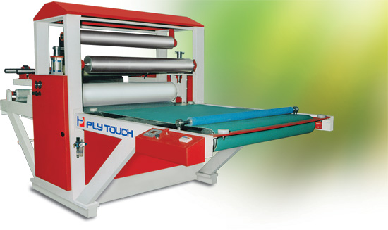 Protection film applicator machine