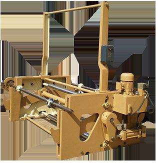Reel stand hydraulic