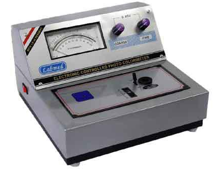 Analogue photo colorimeter