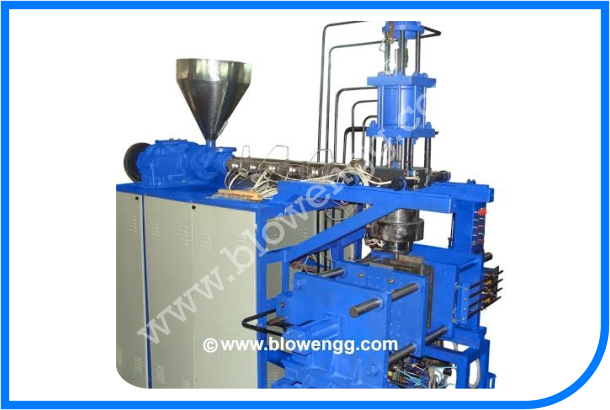 ACCUMULATOR HEAD BLOW MOLDING MACHINE