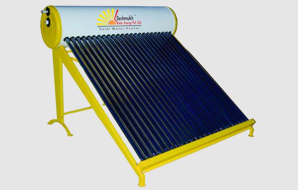 Solar water heater – 1000 lpd