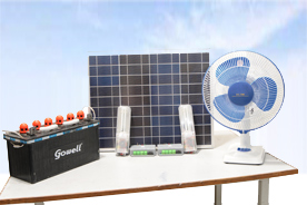 Solar home lighting
