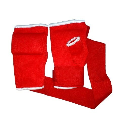 Boxing gloves with hand wrap