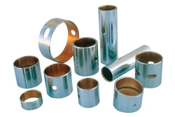 Copper powder metallurgy for bearings