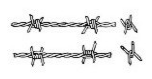 Barbed wire: