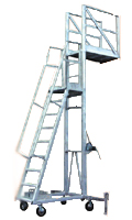Trolley stand ladder