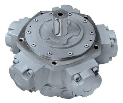 Radial axial piston hydro motor