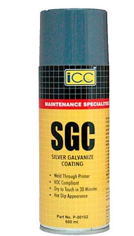 Sgc - silver galvanize coating