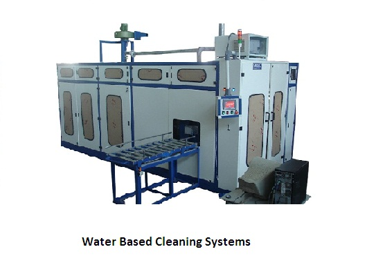 Water based cleaning systems