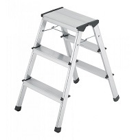Aluminium stool ladder