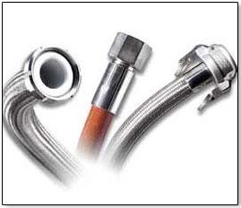 Teflon hose assembly