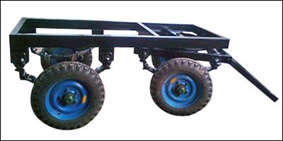 four wheeler brake type trailer